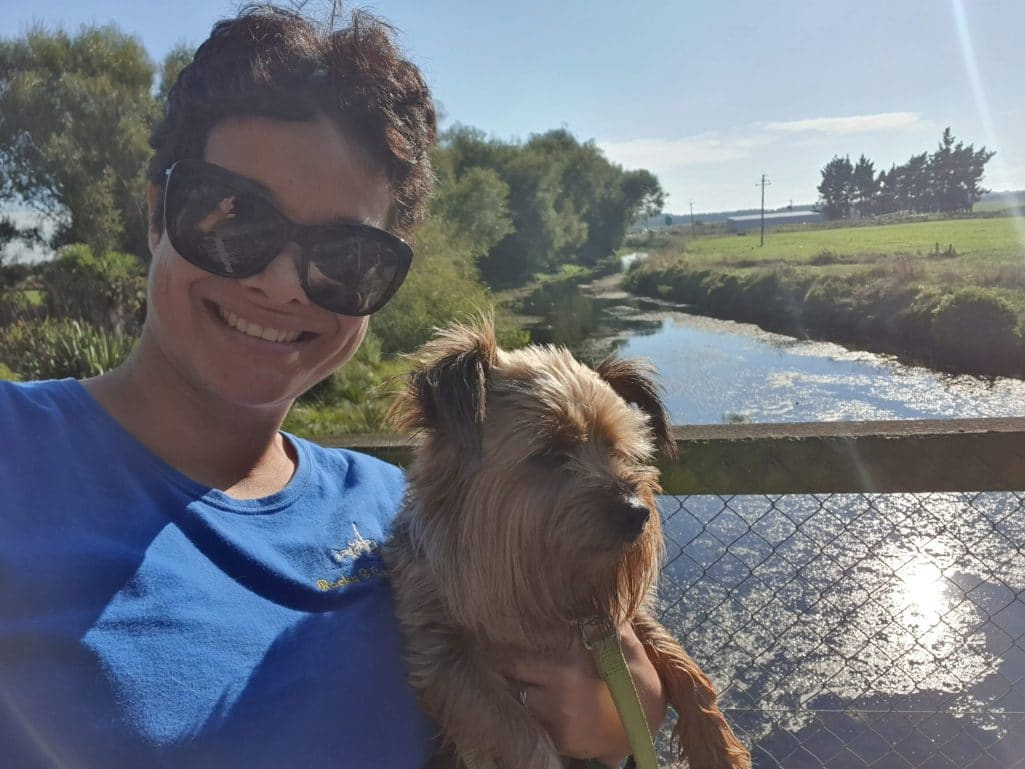 A walk along the NCF Reserve in Kaiapoi's Red Zone
